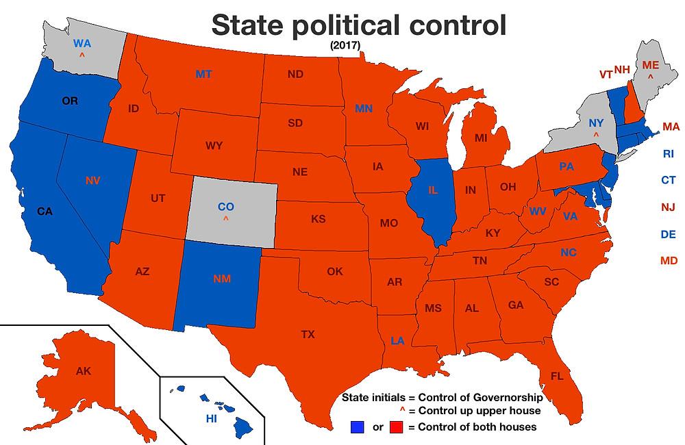 US Political Control