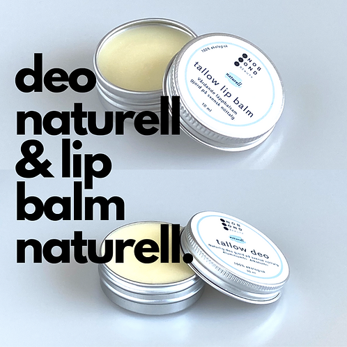 Paket: Deo naturell och Lip balm naturell
