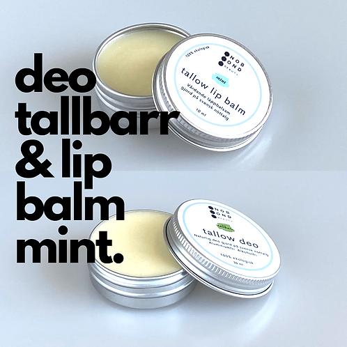 Paket: Deo tallbarr och Lip balm mint
