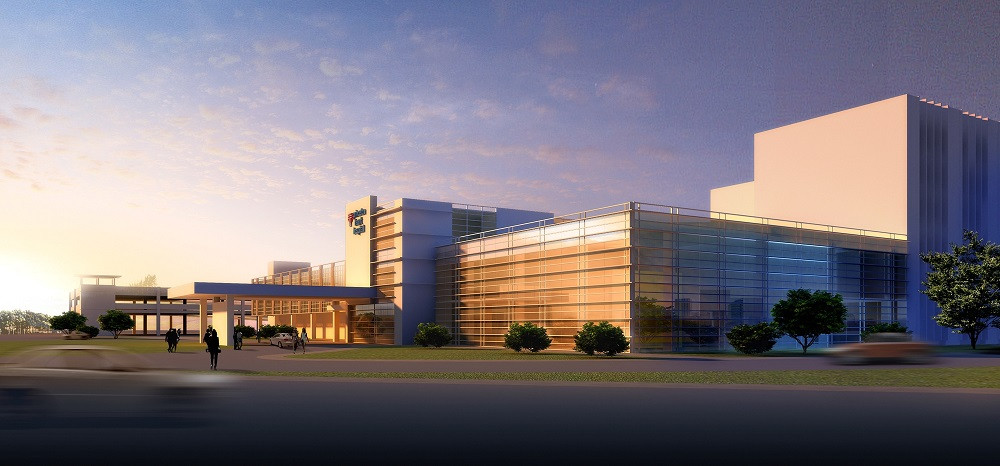 Rendering of Princeton Baptist Medical Center - East Expansion
