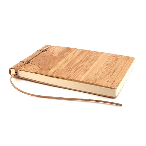 Notebook with replaceable paper set