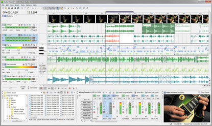 Sony ACID Music Studio 10 Recording And Sequencing Software Lets You Create Your Own Make Remixes Add Soundtracks To Videos Use Powerful