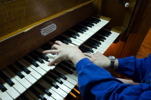 духовой орган Томаса Хьюза