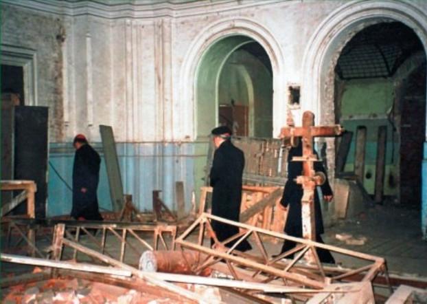 После возвращения храма