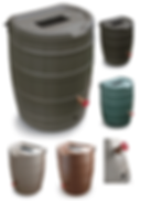 Rain Harvesting Barrel