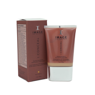 I CONCEAL flawless foundation broad-spectrum SPF 30 sunscreen NATURAL : 30ml
