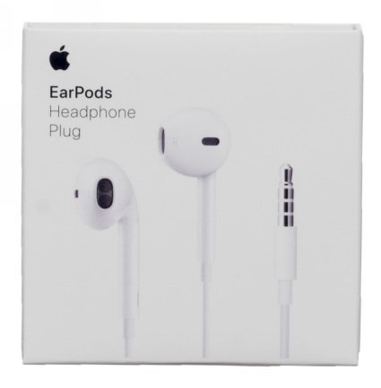 Official Apple EarPods with 3.5mm Headphone Plug