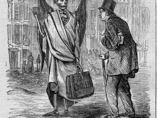 Moral Cholera: Case Study of the Psychological Side of Epidemics