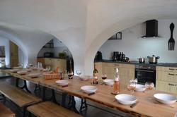 Le clos des Chalmettes-La Grange-Cuisine