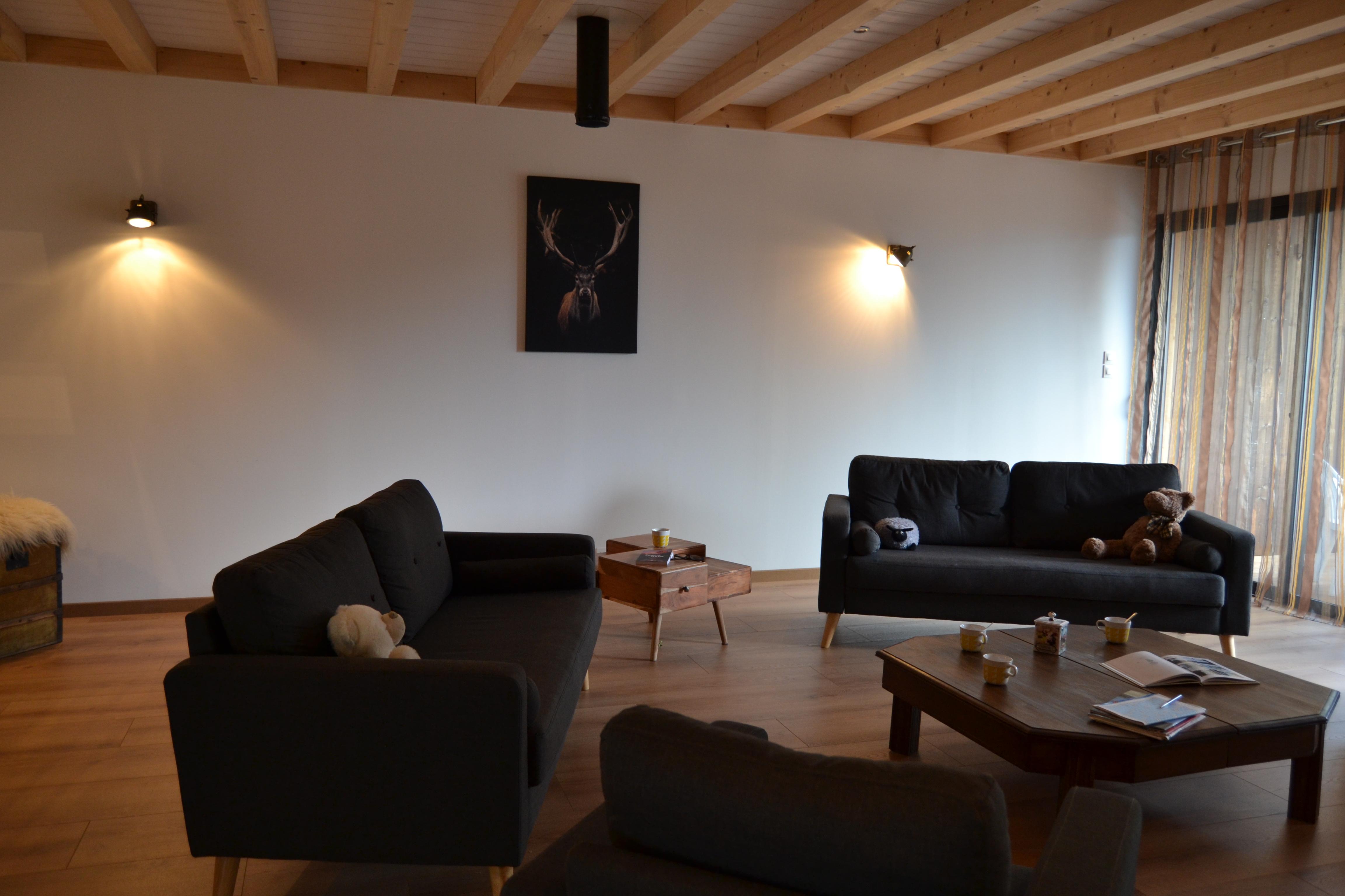 Le clos des Chalmettes-La Grange-salon