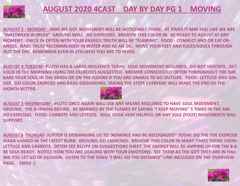 AUGUST 2020 4CAST DAY BY DAY PG 1 PEG.jp