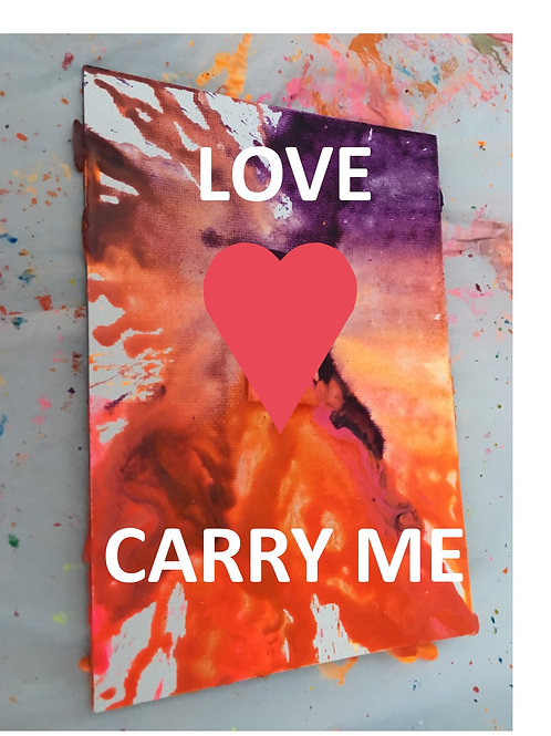 ALCHEMY CARD  Love Carry Me