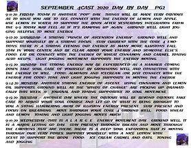 SEPTEMBER 2020 4CAST DAY BY DAY PG 2 PEG