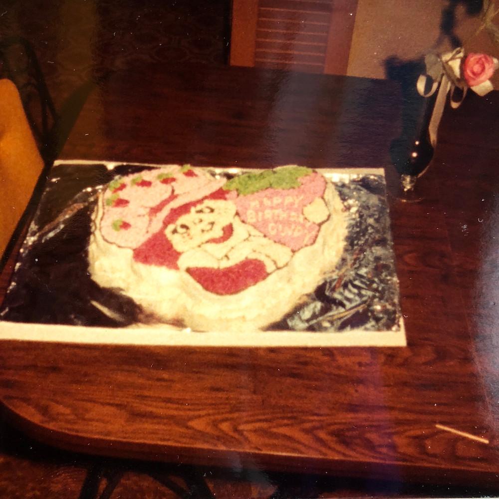Strawberry Shortcake Cake (circa 1983)