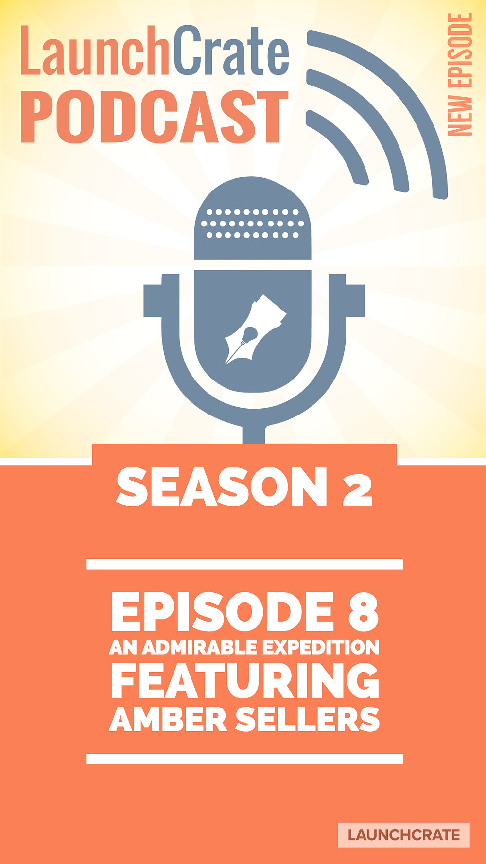 Podcast Season 2, Episode 8, with Amber Sellers