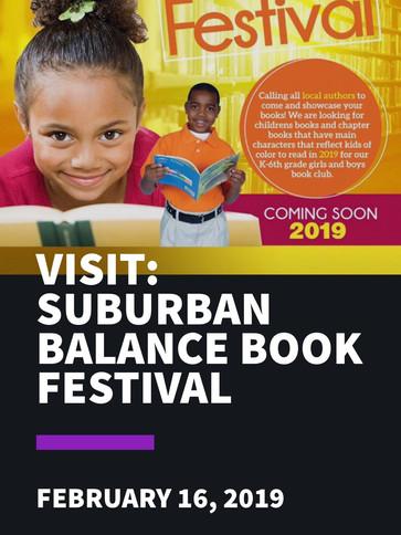 Suburban Balance Book Festival
