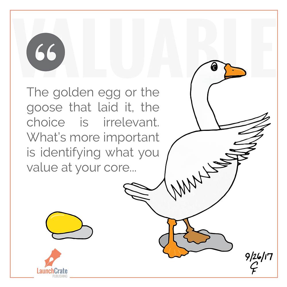 Goose or Golden Egg, Identifying What's Valuable