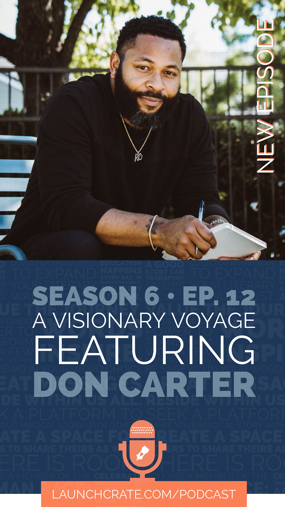 Podcast Season 6, Episode 12 with Don Carter