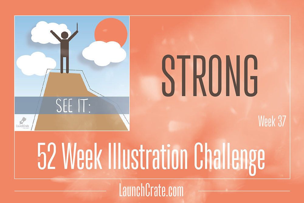 #Go52 Week 37 Theme - Strong