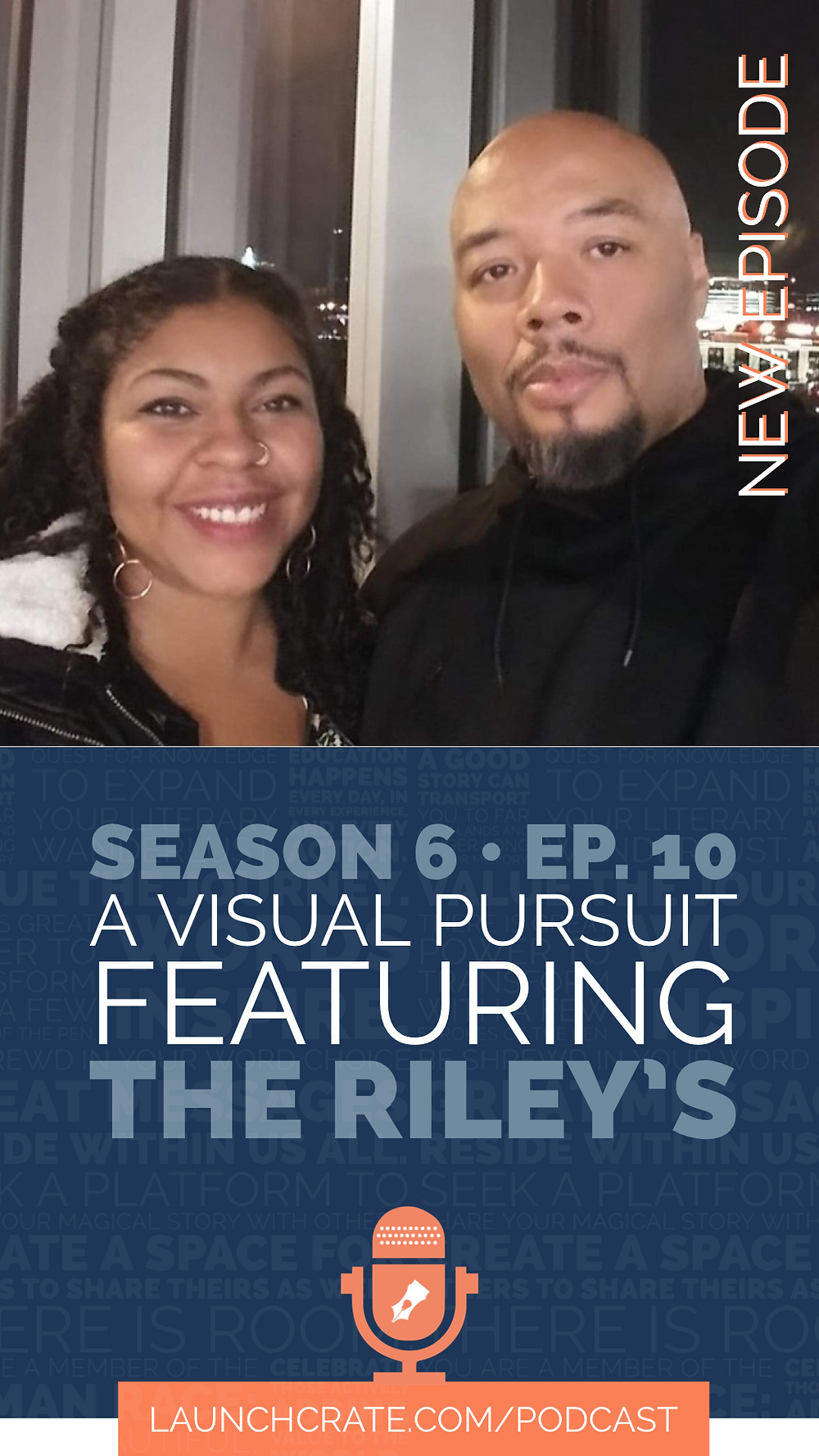 Podcast Season 6, Episode 10. with Shawn and Maria Riley