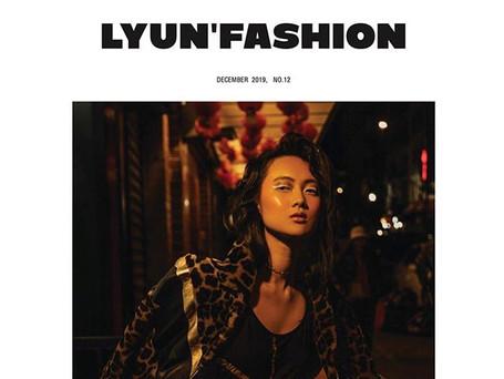 LYUN MAGAZINE💫 . . .  Photo @emilkovich