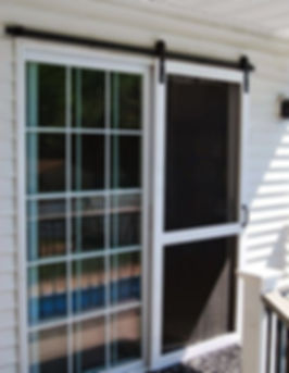 Heavy Dudy Sliding Screen Door  Wayco Services, Cleveland, Tx., Conroe, Tx., The Woodlands, Tx., Kingwood Tx., Dayton Tx., Houston Tx., Humble Tx., Baytown Tx.