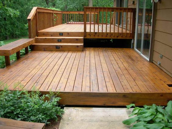 Customized Decks and Porches  Wayco Services, Cleveland, Tx., Conroe, Tx., The Woodlands, Tx., Kingwood Tx., Dayton Tx., Houston Tx., Humble Tx., Baytown Tx.Deck Materials: Treated wood, Composite wood (Trex, Timber Tech, Correct Deck & Veranda), Redwood, Cedar, & Plastic lumber (Azek Deck, Forever Deck, Leisure Decking)