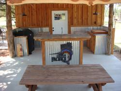 All Cedar Out Door Kitchen
