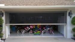 Screen Door for Garage Door