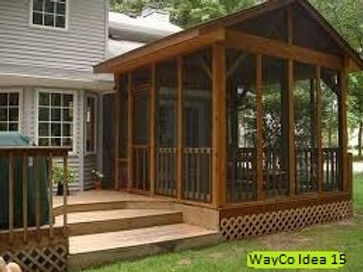 Wayco Services, Cleveland, Tx., Conroe, Tx., The Woodlands, Tx., Kingwood Tx., Dayton Tx., Houston Tx., Humble Tx., Baytown Tx. Screened in Room and Screened Porches, Screened in Decks