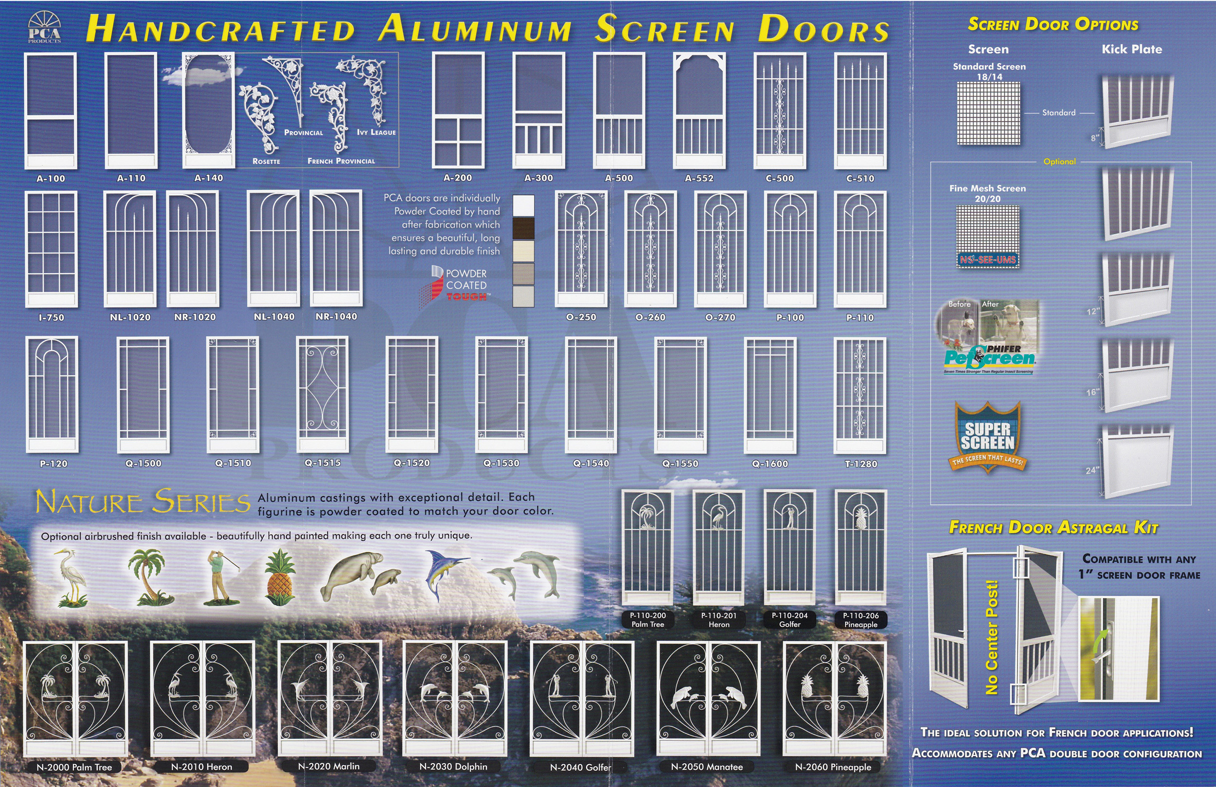 Choose your Screen Door