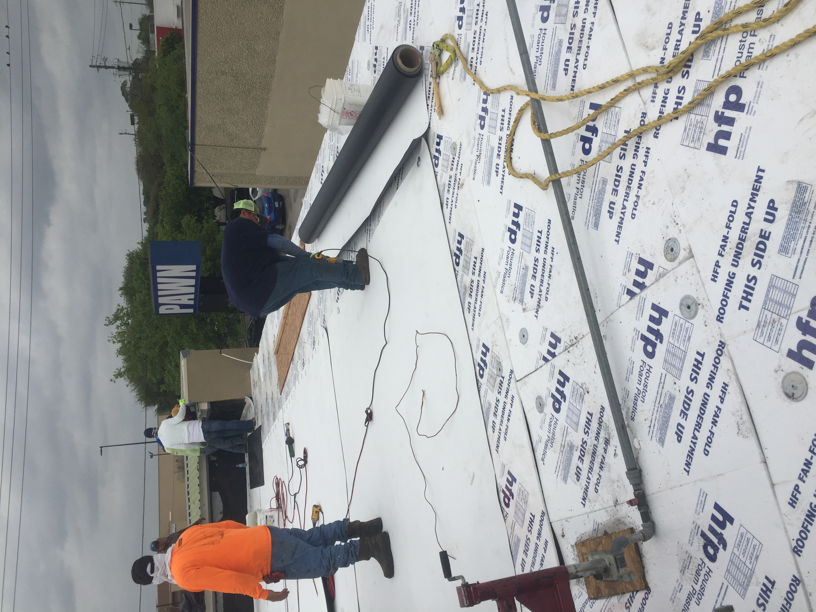 TPO Roofing material