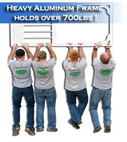 Men Hanging on the PCA Screen Door