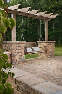 Add a Swing to your Pergolas Wayco Services, Cleveland, Tx., Conroe, Tx., The Woodlands, Tx., Kingwood Tx., Dayton Tx., Houston Tx., Humble Tx., Baytown Tx.