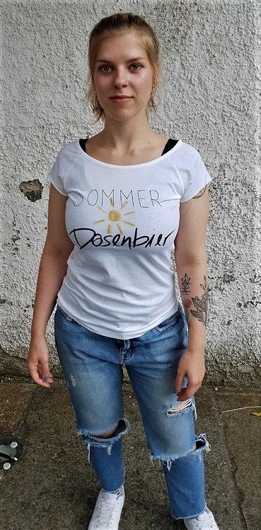 Shirt. Sommer, Sonne, Dosenbier (w)