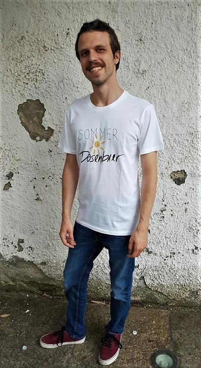 Shirt. Sommer, Sonne, Dosenbier (m)