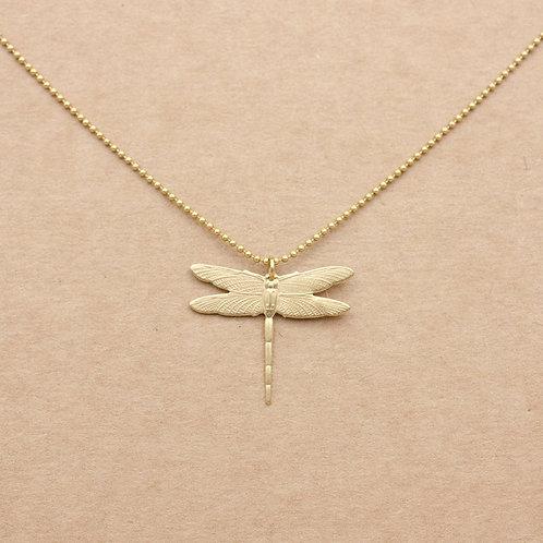 Libelle. Kurze Halskette