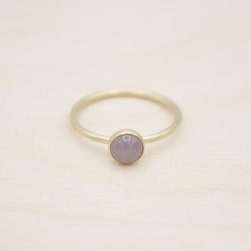 Achat. Ring