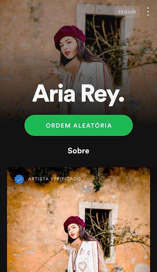 Aria Rey. Spotify