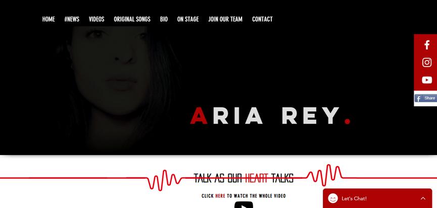 Aria Rey. | mariana regina
