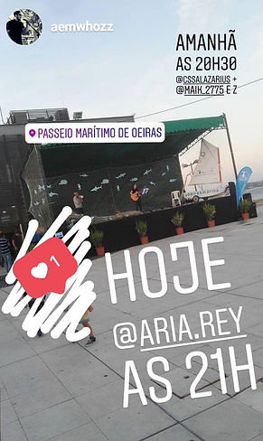 Aria Rey. _ Oeiras