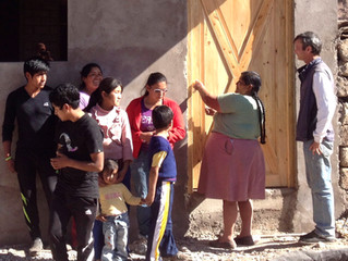 MicroAid Builds a New Home for the Ormachea-Hermoza Family –– 2013