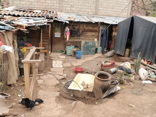 Inflation at our Worksite in Urubamba Peru