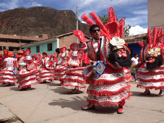 The Most Amazing Street Festival in Urubamba, Peru