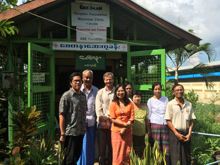 MicroAid Provides Water Purification Systems for the Ah Lett Chaung Village Clinic — 2014