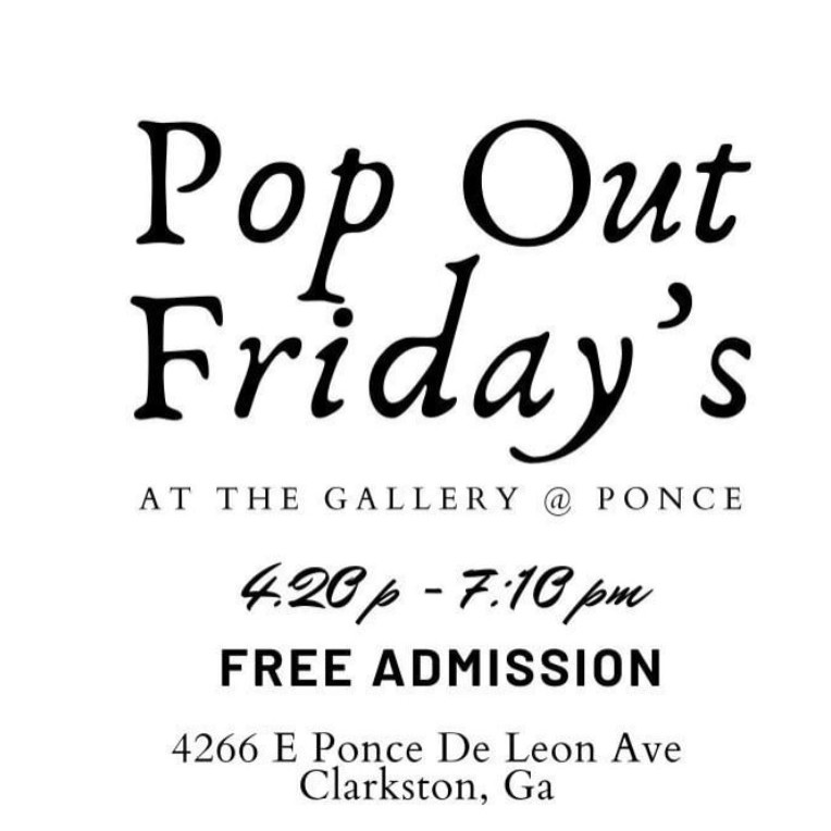 Pop Out Friday's