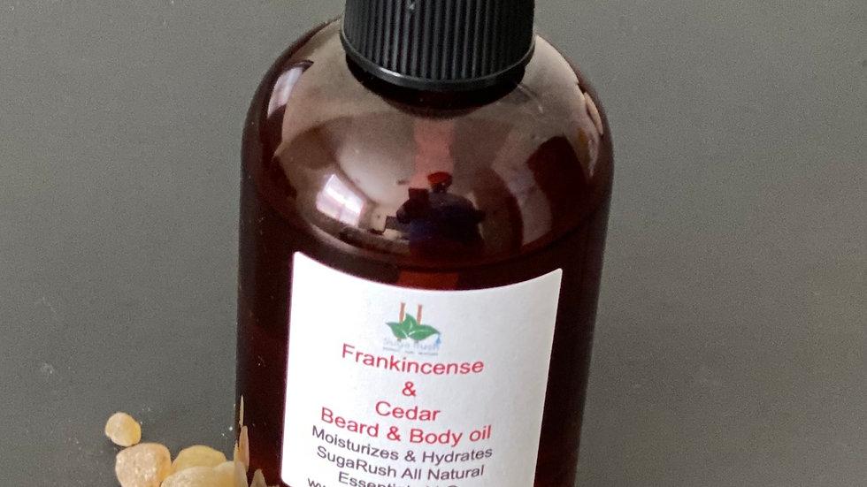 Frankincense & Cedar Beard oil