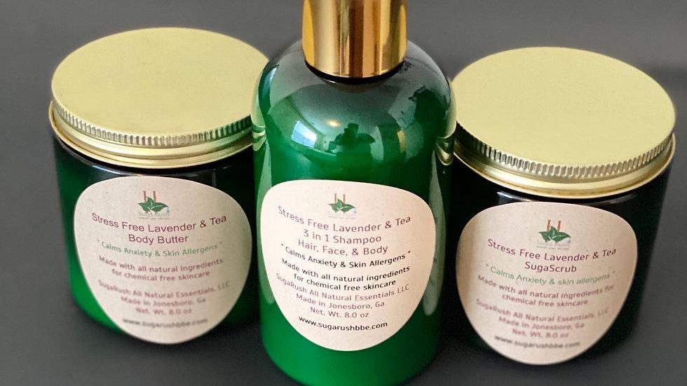 Stress Free Lavender & Tea Collection Bundle
