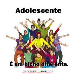 Adolescente é um bicho diferente !