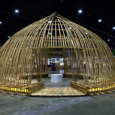 Making of the pavilion - Meeting space by สุริยะ อัมพันศิริรัตน์